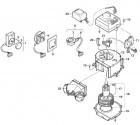 Bedienteil TEB-2 + TEB-T ab 5/96 integriert für Truma Gebläse