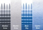 Thule Omnistor 8000 Gehäuse weiss 4,50 x 2,75m Saphir-Blau
