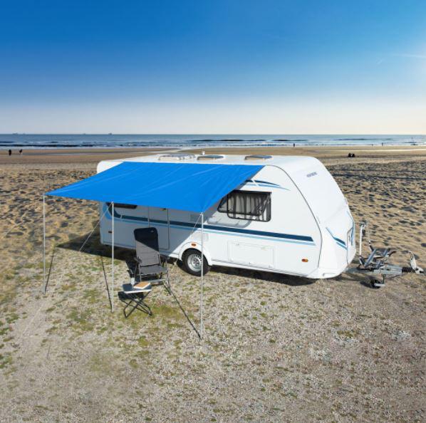 Sonnendach Playa 6 blau 450 x 240 cm