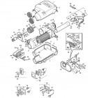 Bedienteil Unterputz ohne Kabel für Trumatic E 2400