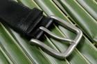Leathersafe Geldgürtel 'Shine', schwarz 120 cm
