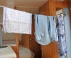 Wäscheleine für Camping
