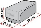 Zusatzbox für Thetford Cassette C-200 grau