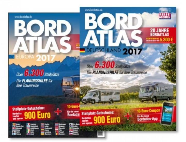 Reisemobil-Bordatlas 2017