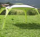 Leichtpavillon Medusa II 400 grün