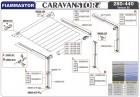 Rechte Endseite der Markisenwalze Caravanstore 05