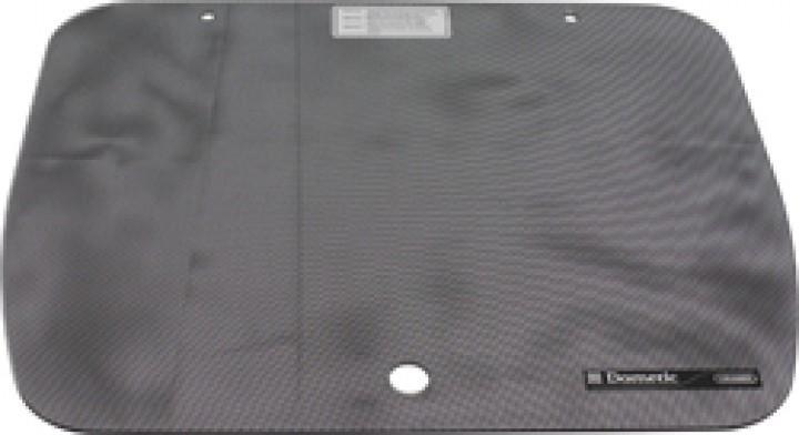 Glasabdeckung Punktmuster schwarz für Cramer-Kocher EK 2000 46 x 33,5cm