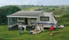 Dometic-Markise PerfectRoof PR 2500 eloxiert mit Motor 6 x 2,75 m Grau
