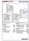 Safari-Room Seitenteil-Paar Serie 6002 / 6502, Auszug 2,50m Höhe extra-large