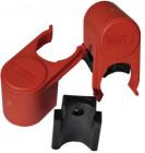 Bull Shock Absorber rot (2 Stück) für Carry Bike Pro