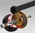 Hochleistungsbremse Premium Brake 2361 Tandem