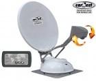 Sat Anlage Travelsat 80 HD SKEW mit LED Panel 2 TV Anschlüsse